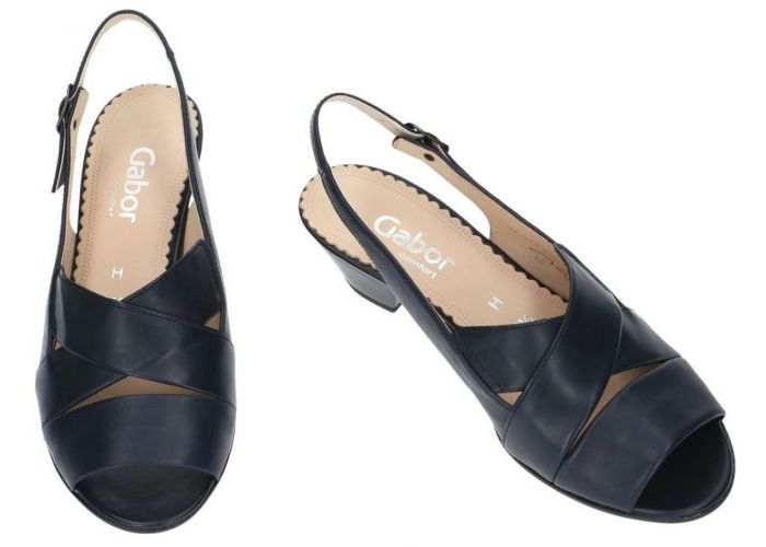 Gabor 86.571.56 sandalen blauw donker