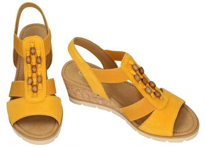 Gabor 45.750.13 sandalen geel