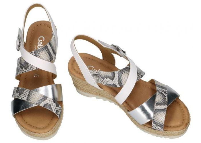 Gabor 42.832.40 sandalen wit
