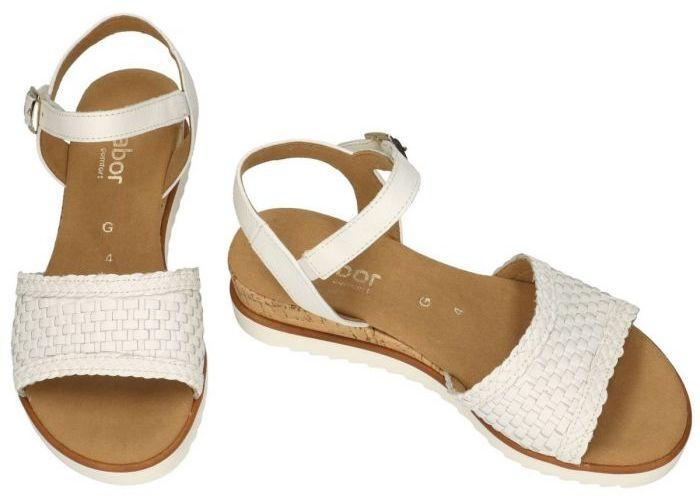 Gabor 62.759.50 sandalen wit
