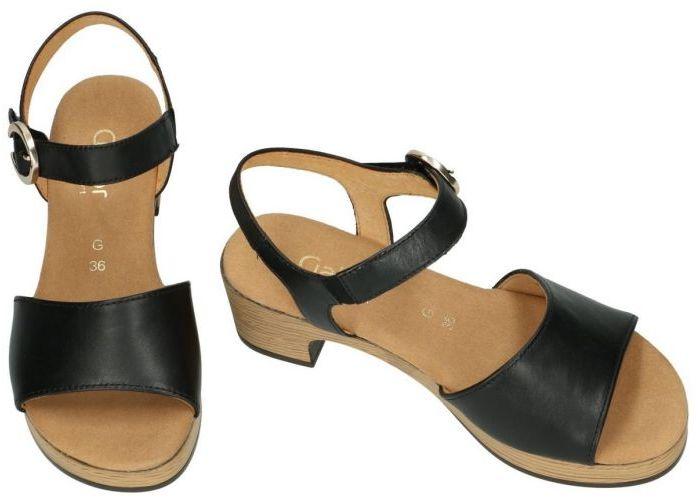 Gabor 62.721.57 sandalen zwart