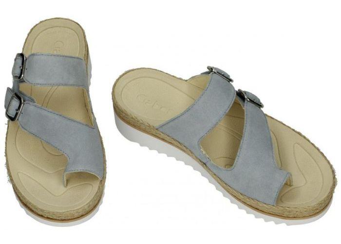 Gabor 63.722.16 slippers & muiltjes blauw