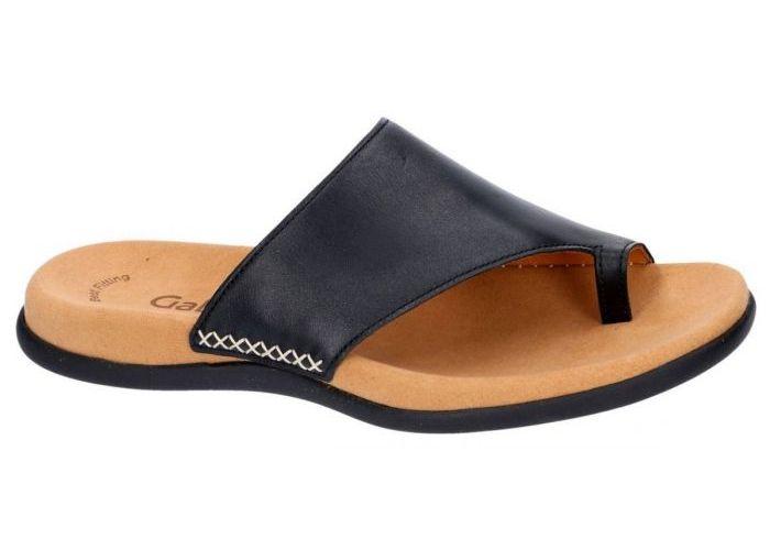 Gabor 03.700.27 slippers & muiltjes zwart