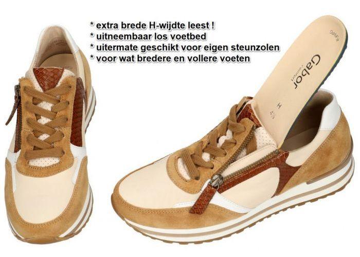 Gabor 66.525.51 sneakers  camel
