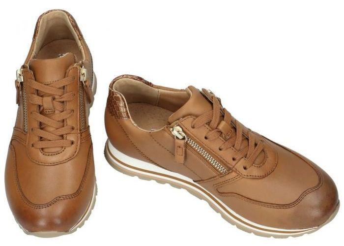 Gabor 66.368.53 sneakers  cognac/caramel