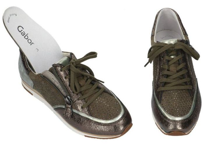 Gabor 84.322.65 sneakers  kaki/camouflage