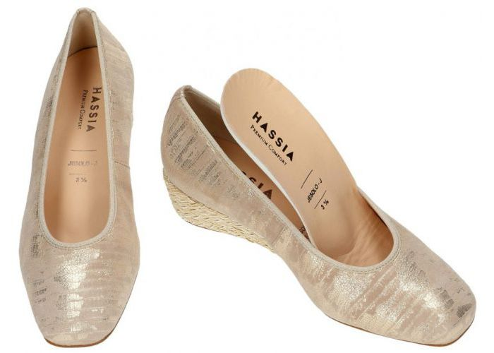 Hassia 7458 mocassins - loafers beige