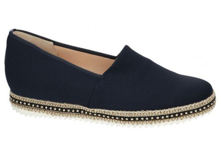 Hassia 7430 mocassins - loafers blauw donker