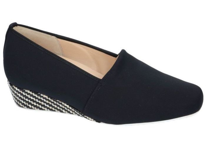 Hassia 7254 mocassins - loafers zwart