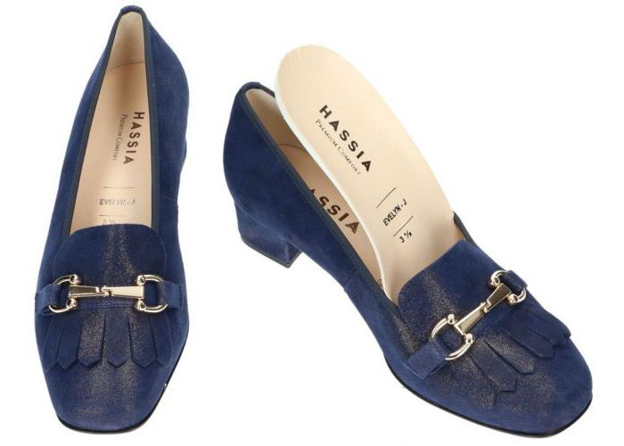 Hassia 7160 pumps blauw donker