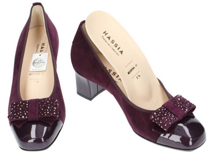 Hassia 7053 pumps bordeaux