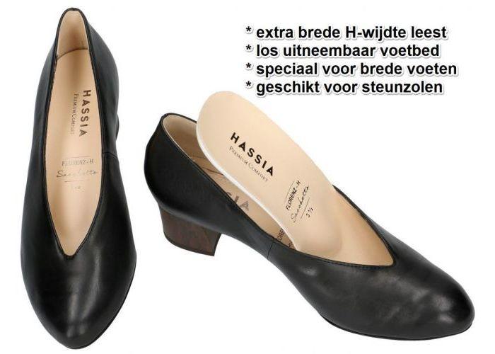 Hassia 0-30 4930 FLORENZ (H) pumps & hakschoenen zwart