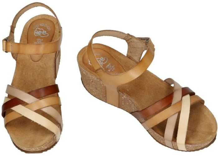 Hee 19017 sandalen beige