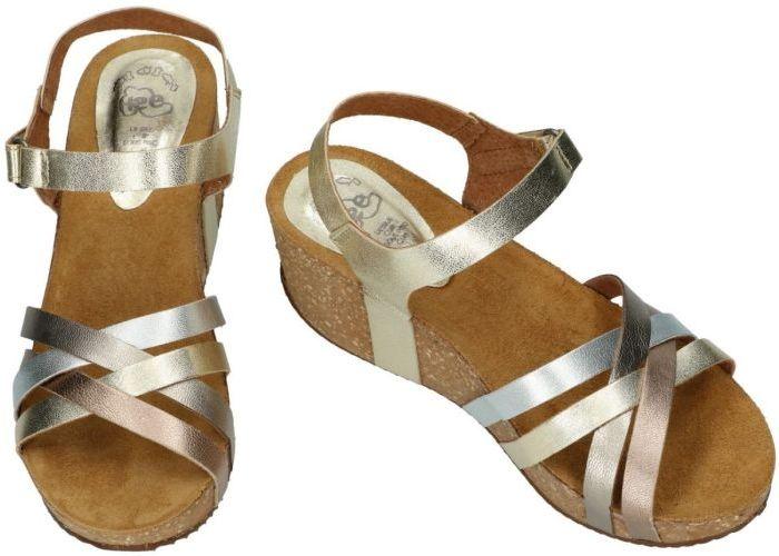 Hee 19017 sandalen goud