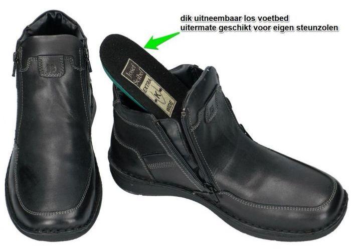 Josef Seibel 43382 ANVERS 29 boots & bottines zwart