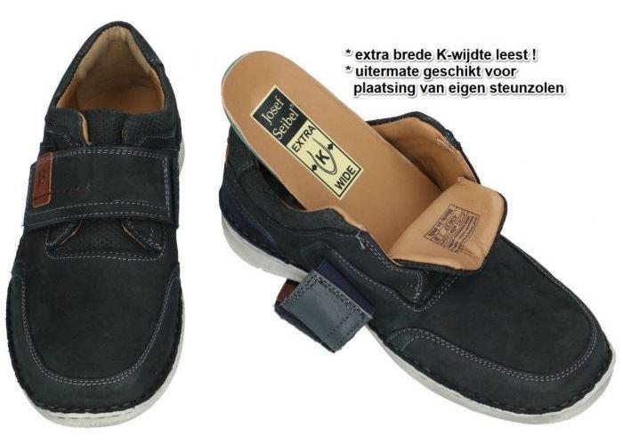 Josef Seibel 43637 ANVERS 83 casual schoenen blauw donker