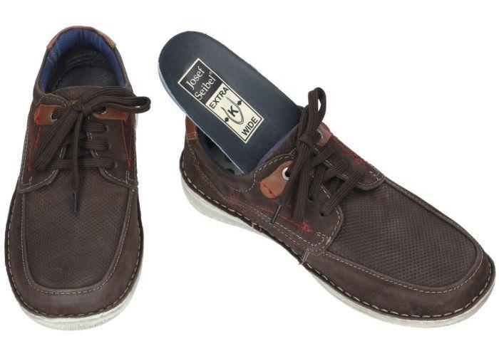 Josef Seibel 43629 TE21 ANVERS 75 casual schoenen bruin donker