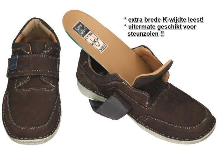 Josef Seibel 43637 ANVERS 83 casual schoenen bruin donker
