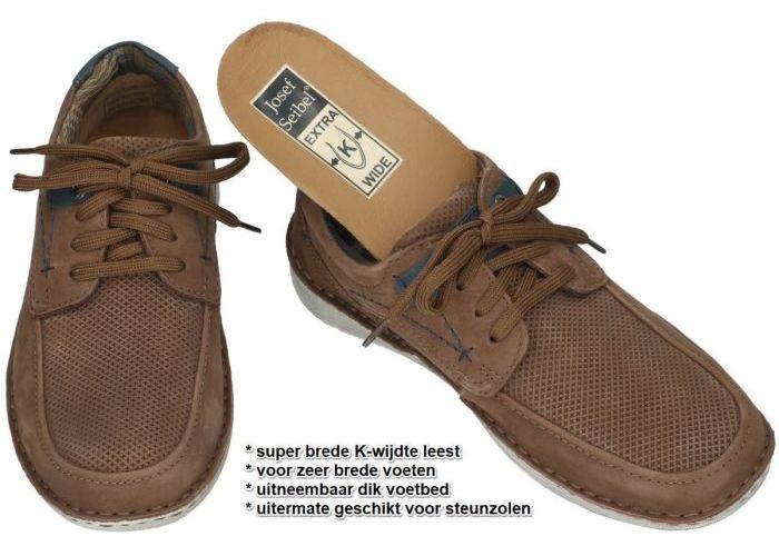 Josef Seibel 43629 TE21 ANVERS 75 casual schoenen bruin