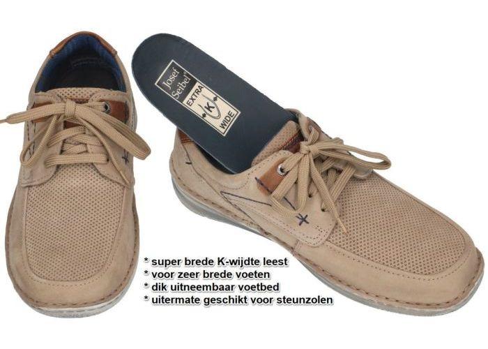 Josef Seibel 43629 TE21 Anvers 75 casual schoenen taupe