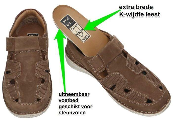 Josef Seibel 43635 ANVERS-81 sandalen bruin