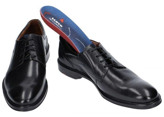Lloyd KOS 17-387-00 geklede lage schoenen zwart