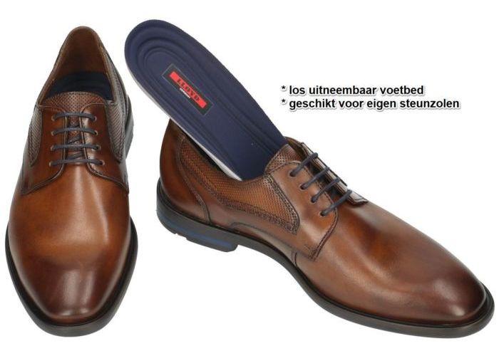 Lloyd 19-089-17 DANE geklede lage schoenen bruin