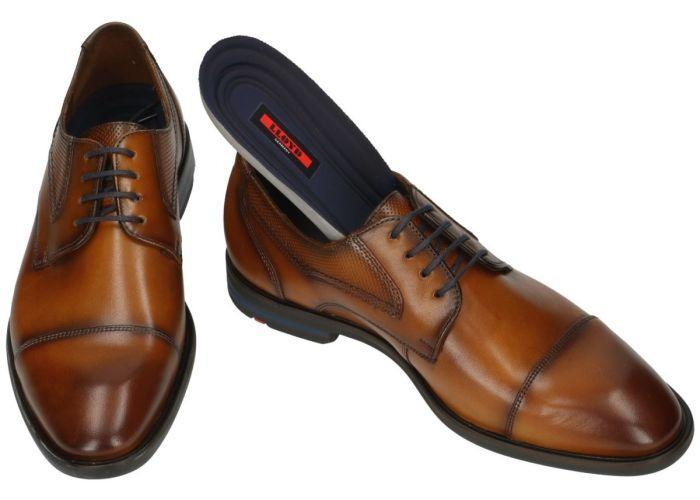 Lloyd 19-091-13 DARTON geklede lage schoenen cognac/caramel