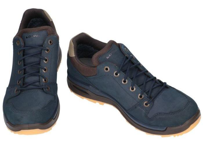 Lowa 310812 LOCARNO gtx lo wandelschoenen blauw donker