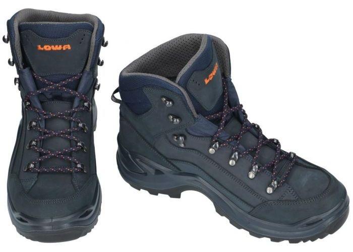 Lowa 310945 RENEGADE gtx MID wandelschoenen blauw donker
