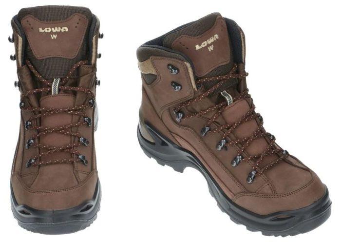 Lowa 310968 GTX mid Renegade WIDE wandelschoenen bruin