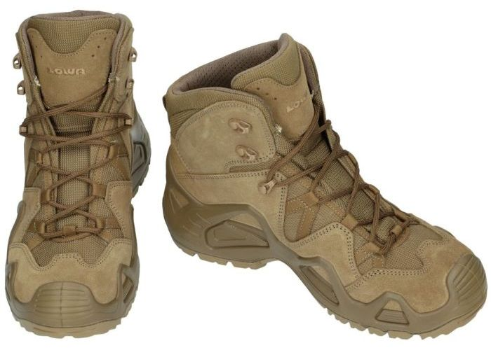 Lowa 310535 ZEPHYR mid TF operational wandelschoenen kaki/camouflage