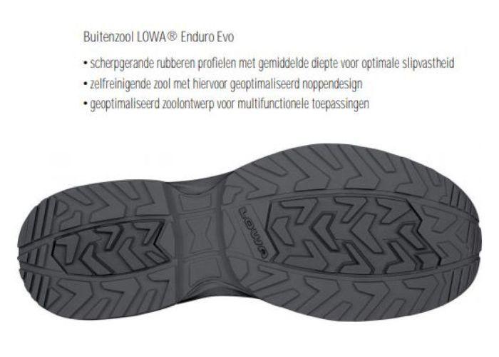 Lowa 310630 MADDOX GTX LO TF wandelschoenen zwart