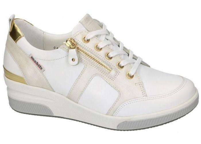 Mobils Ergonomic TRUDIE  sneakers  off-white/ecru/parel