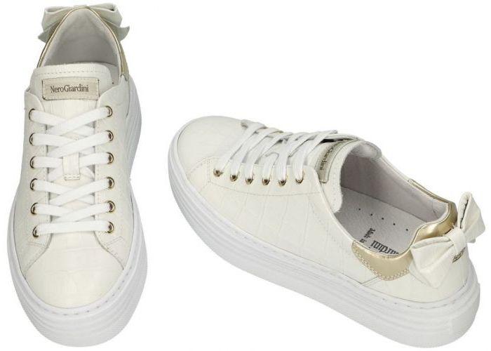 Nero Giardini E115290D sneakers  off-white/ecru/parel