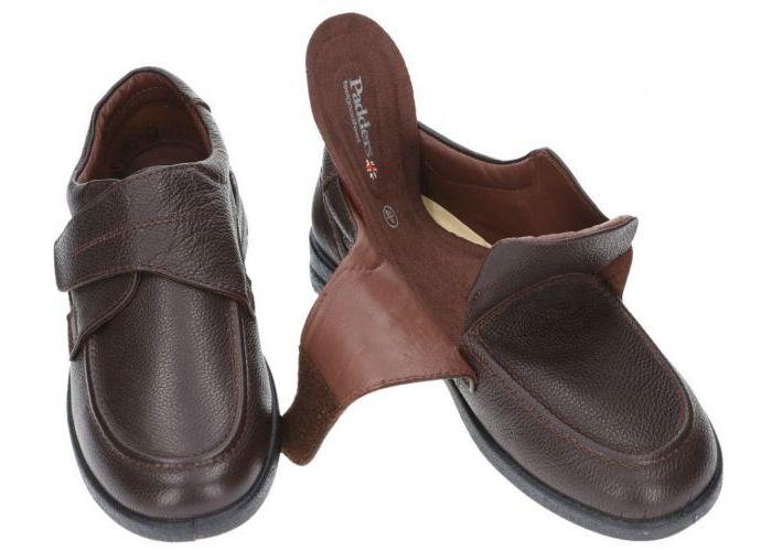 Padders SOLAR 635N92 geklede lage schoenen bruin donker