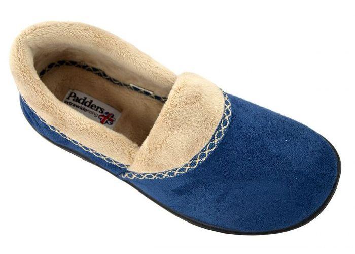 Padders MELLOW 460/29 pantoffels blauw