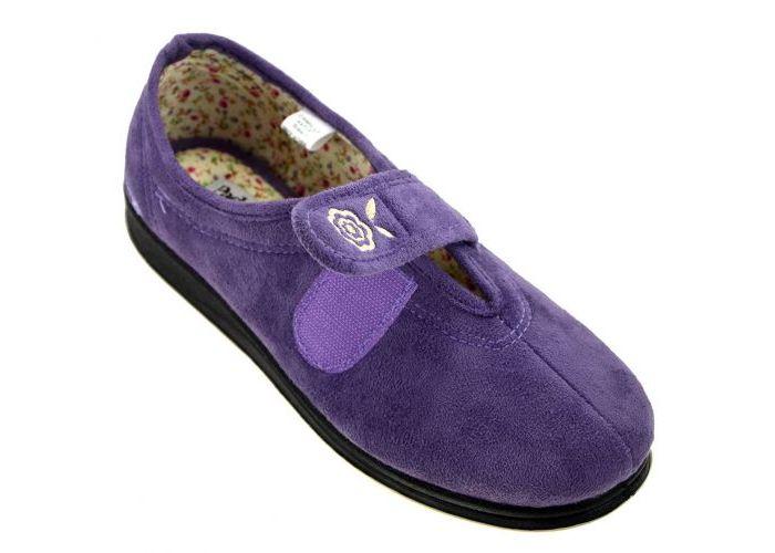 Padders CAMILLA 447/17 pantoffels purper