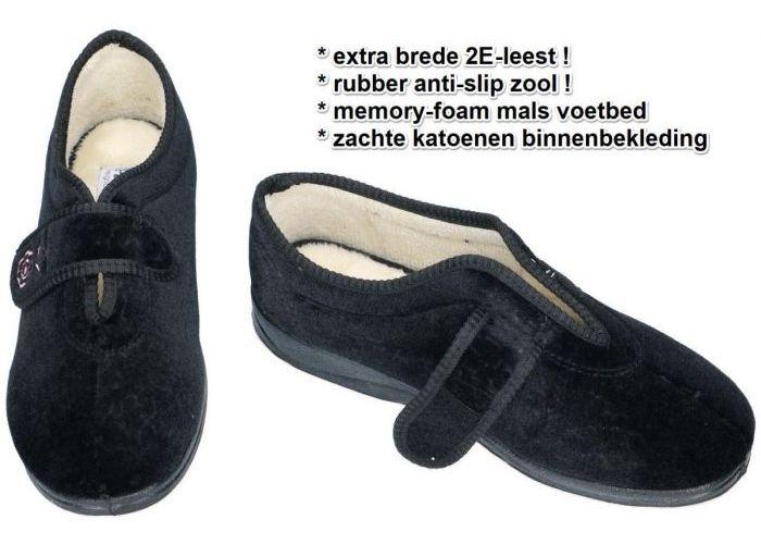 Padders CAMILLA 447/10 pantoffels zwart