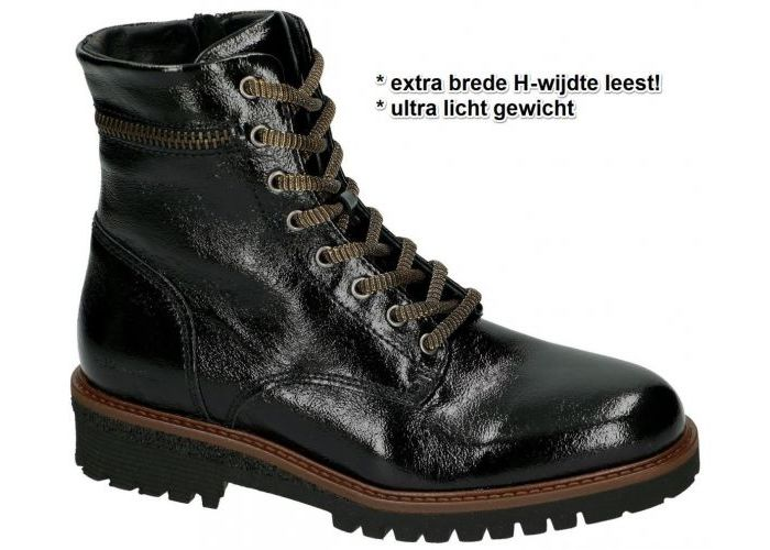 Damesschoenen Piedinudi ENKELLAARZEN 2286-03.36 H-FIT Zwart