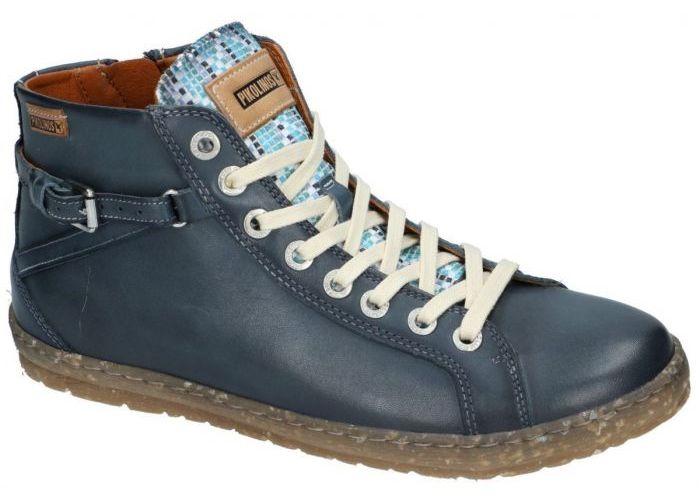 Pikolinos 901-7312C5 LAGOS bottines blauw donker