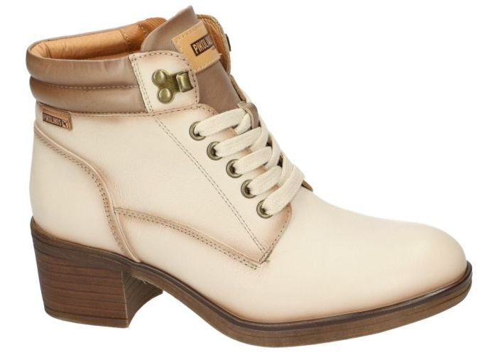 Damesschoenen Pikolinos BOTTINES W6N-8618 LYON Off White