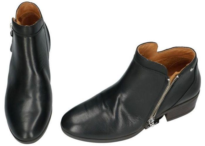 Pikolinos W1U-8590 ROYAL enkellaarzen zwart