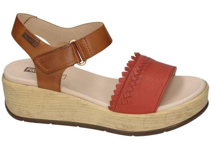 Pikolinos W3X-1747 sandalen rood