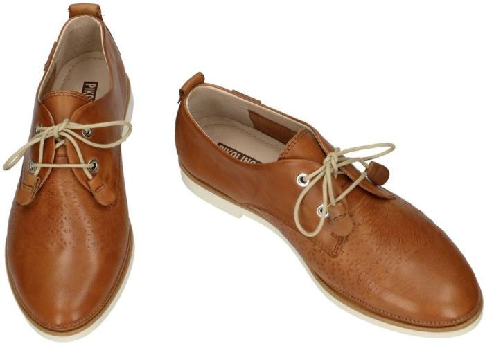 Pikolinos W3V-4828 lage gesloten schoenen cognac/caramel