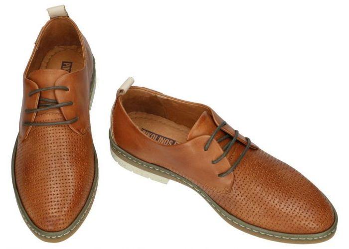 Pikolinos W7C-4987C1 lage gesloten schoenen cognac/caramel