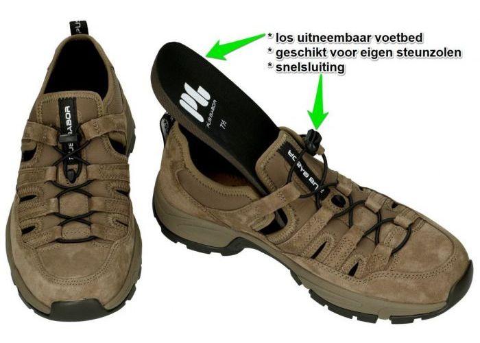 Pius Gabor 0138.13.02 sandalen bruin
