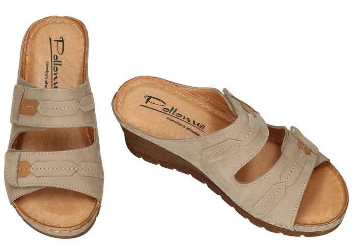 Pollonus Comfort Shoes 5-0979-014  KLAPEK DAMSKI slippers & muiltjes taupe