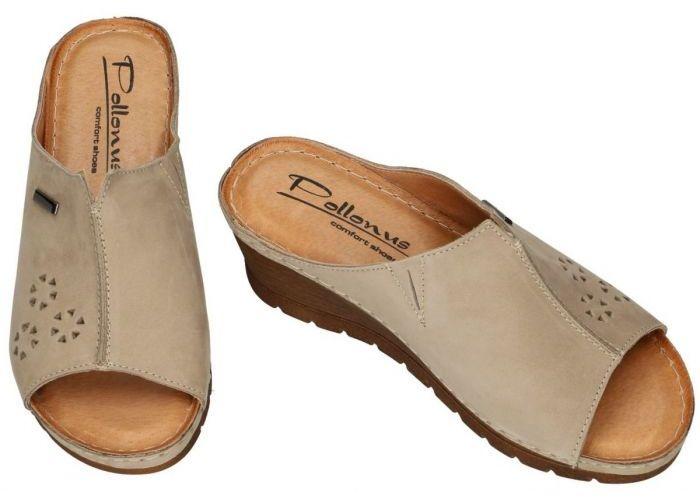 Pollonus Comfort Shoes 5-0976-28 KLAPEK DAMSKI slippers & muiltjes taupe