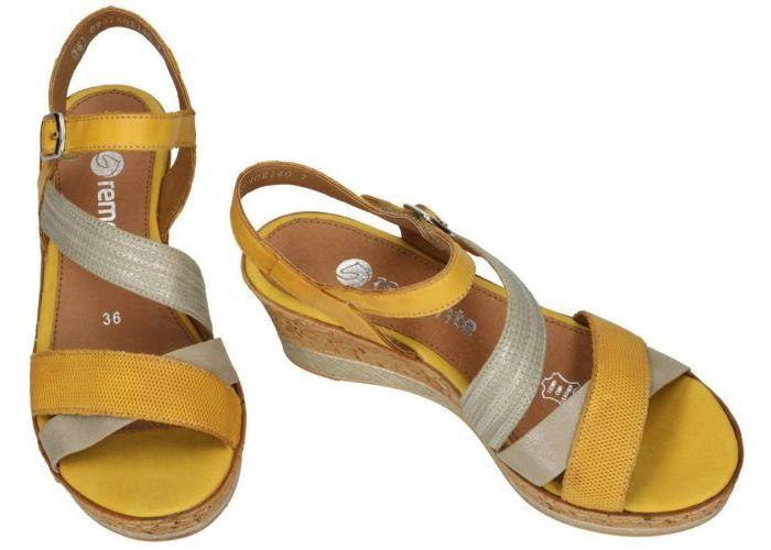 Remonte D4755-68 sandalen geel